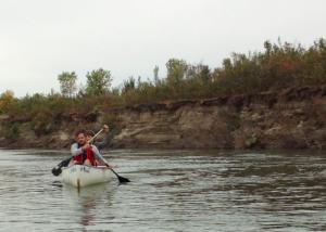 Canoeing Saskatoon