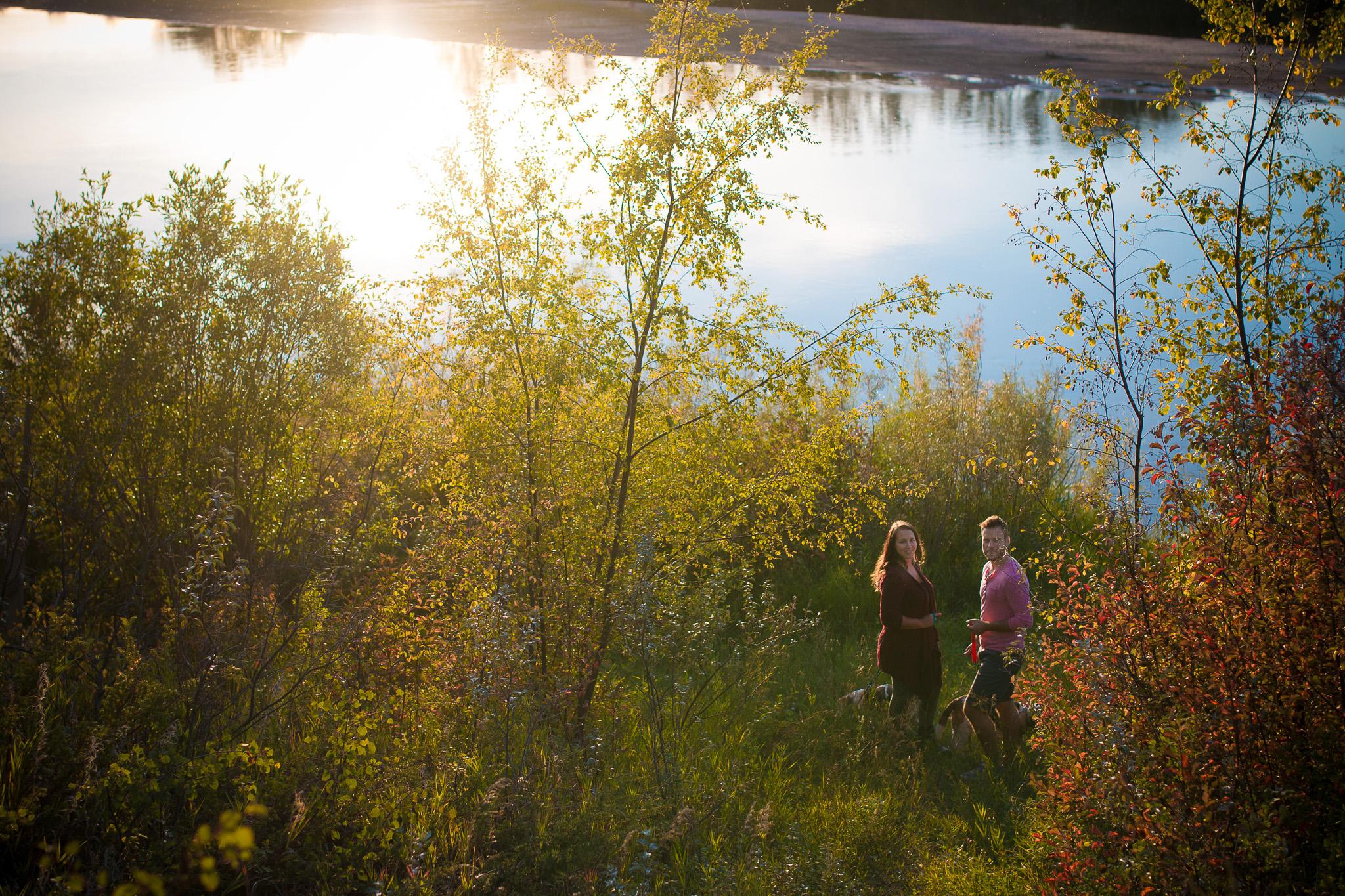 Sarilia trails and river